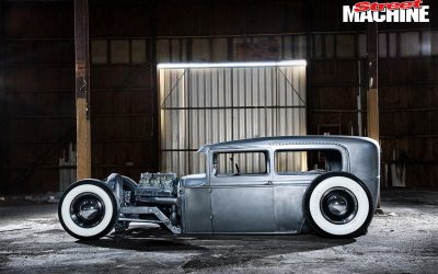 FEATURED ARTICLE FROM STREET MACHINE: SLAMMED MODEL A FORD HOT ROD