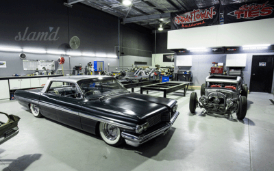 FEATURED ARTICLE FROM SLAM'D MAGAZINE: SHOP TOUR: DOWN TOWN KUSTOMS – AUSTRALIA