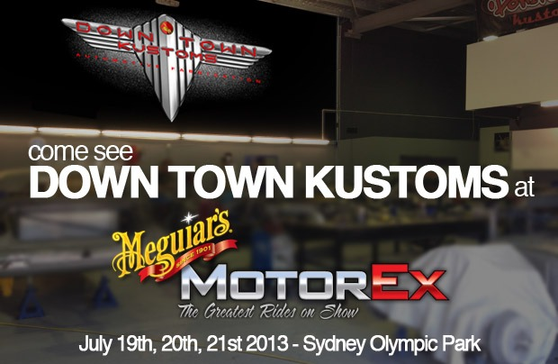 DOWN TOWN KUSTOMS AT MOTOREX 2013