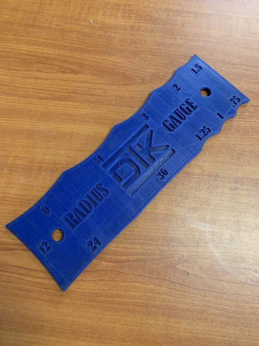 3D PRINTED DTK RADIUS CHECK GAUGE